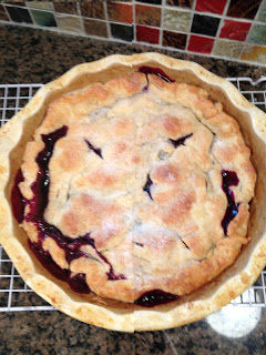 Blubarb Pie | Make This Food Blog
