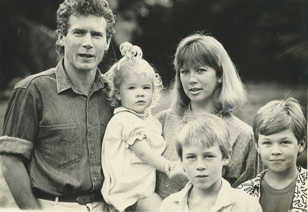 Rufus Family in South Africa, 1988
