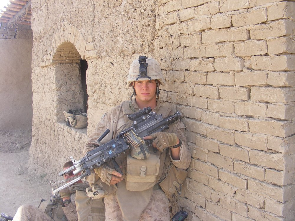 James LaPorta in southern Helmand Province, Afghanistan, during his first combat deployment in 2009. LaPorta is now an independent journalist covering the U.S. Marine Corps.