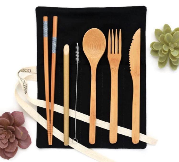 Bamboo cutlery by  SaidoniaEco