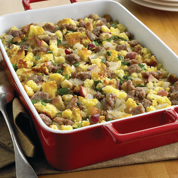 Cornbread, Sausage and Apple Stuffing