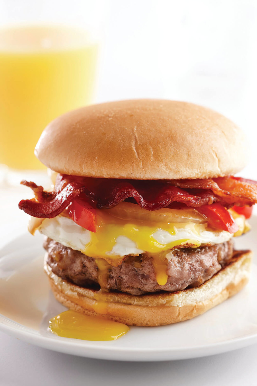 Ultimate Pork Breakfast Burger