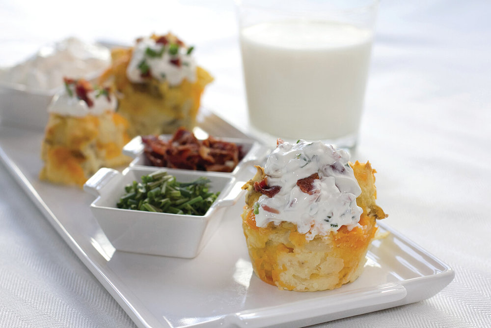 Baked Potato Cupcakes