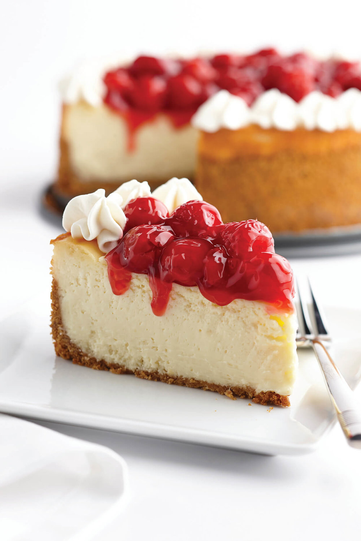 Cherry and Red Raspberry Cheesecake