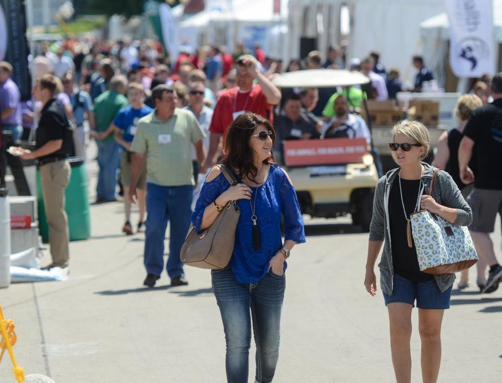 Approximately 20,000 regional, national and international guests were in Iowa for the World Pork Expo.
