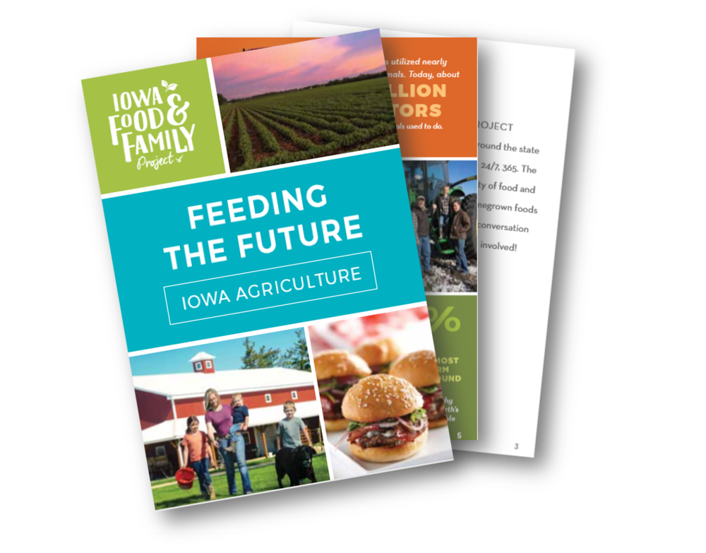 - Did you know most soybeans grown in Iowa are processed into feed for livestock like pigs, poultry and dairy cows? Download this booklet to learn more fun facts about Iowa agriculture.