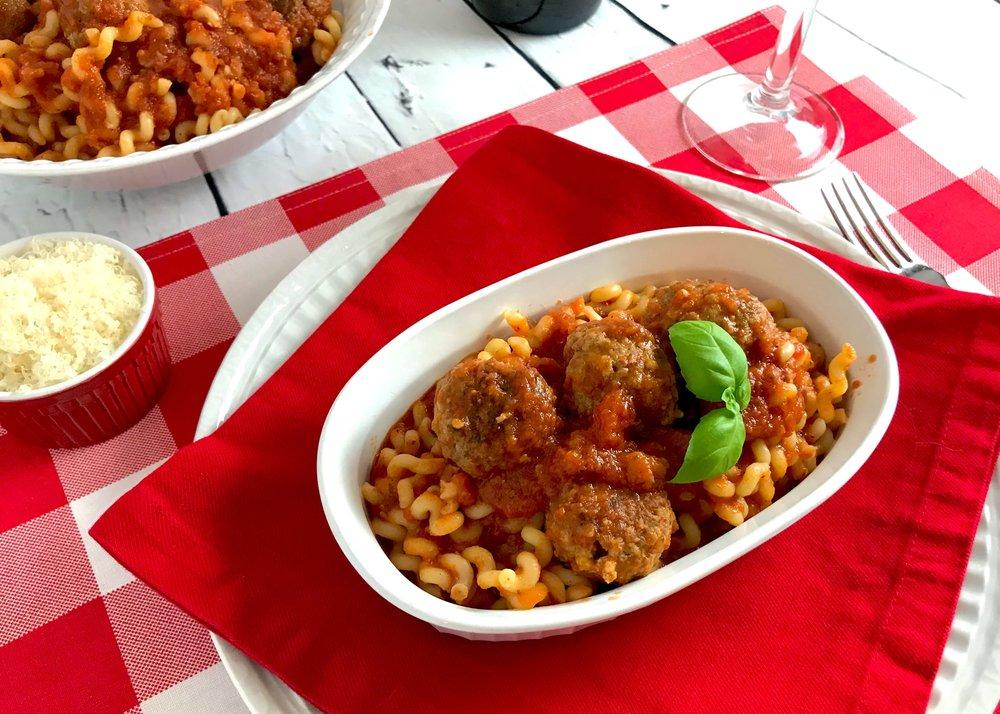 Iowa-Inspired Italian Meatballs