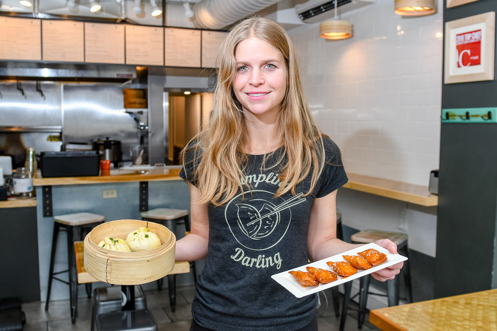 Lesley Triplett owns and operates Dumpling Darling, a fusion dumpling restaurant with locations in Iowa City and Cedar Rapids.