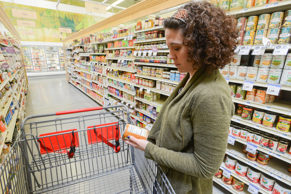 The study shows 41 percent of shoppers admit to being more interested in food labels than they were just two years ago.