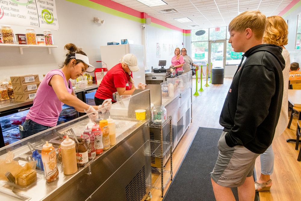 Sweet Swirls has shops in Ankeny and Johnston. Photo credit: Joseph L. Murphy/Iowa Soybean Association
