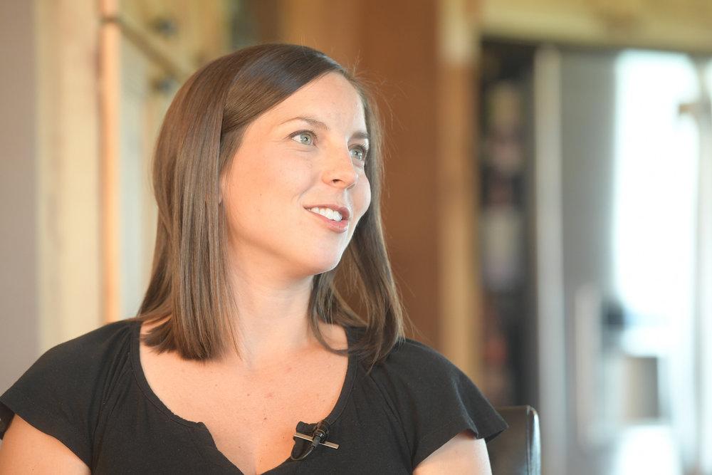 Kristin Porter started the Iowa Girl Eats blog in 2009. Since then it has built a massive network of followers. Photo credit: Joseph L. Murphy/Iowa Soybean Association