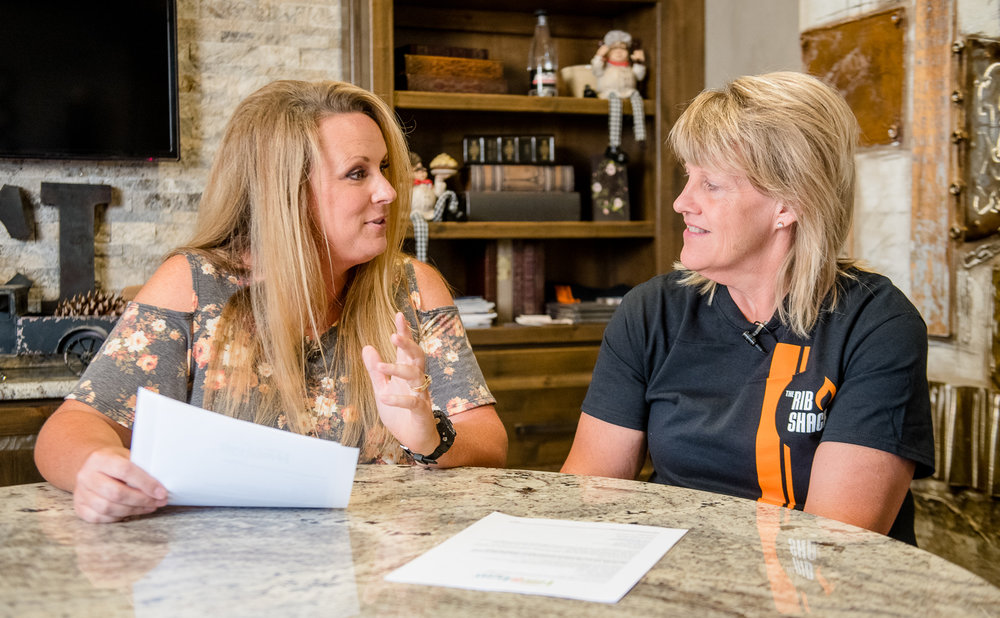 Joni Bell is the owner of Great Caterers of Iowa and The Rib Shack. (Photo: Joseph L. Murphy)