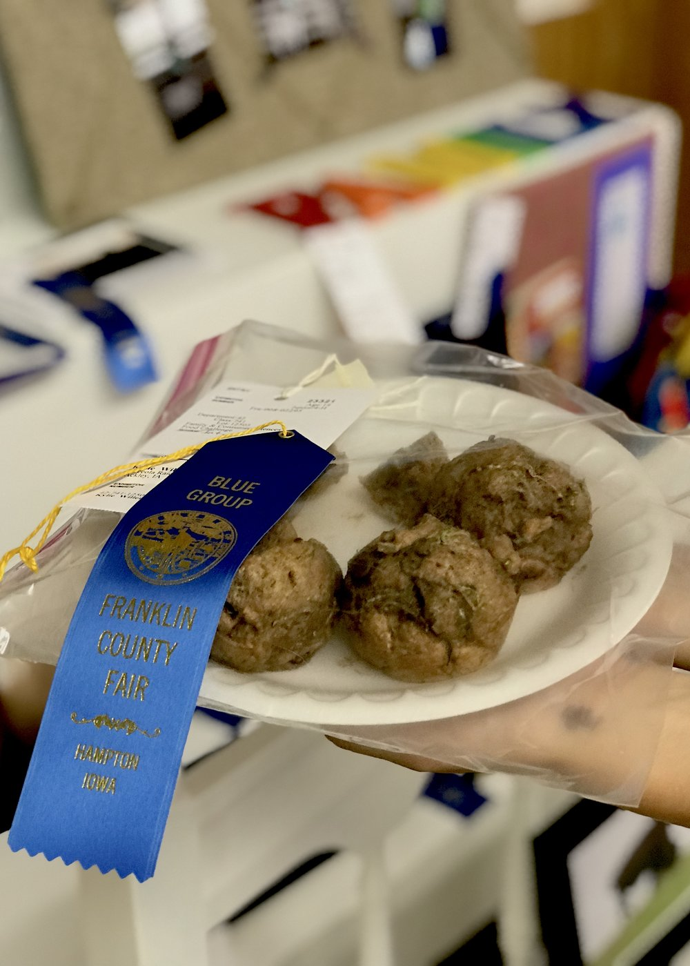Chocolate Chip Zucchini Muffins at the Franklin County 4-H Recipe Challenge. Photo credit: Anita McVey