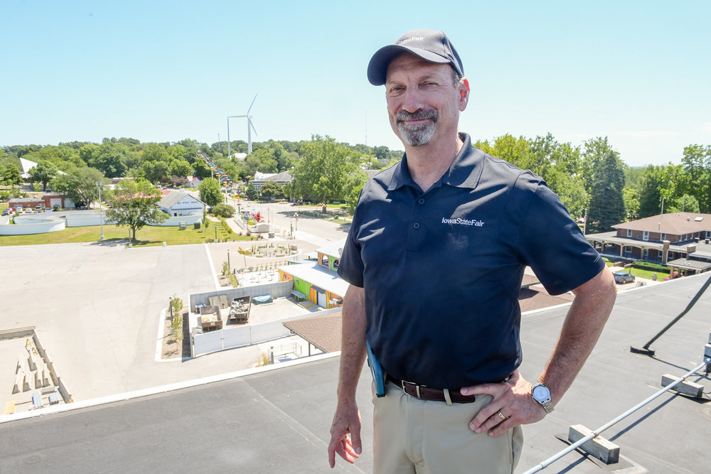 Gary Slater is the CEO and Manager of the Iowa State Fair. Photo credit: Joseph L. Murphy