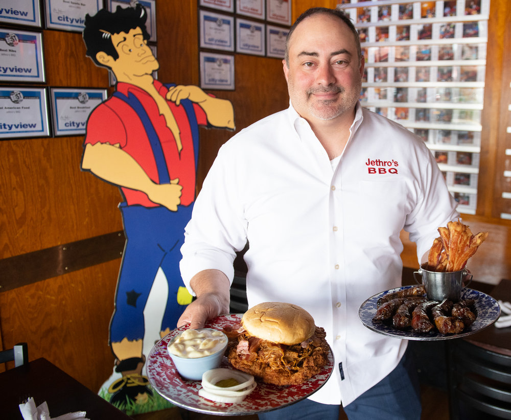 Chef Dom is the executive chef at Jethro's BBQ and Splash Seafood Bar & Grill. Photo credit: Joseph L. Murphy/Iowa Soybean Association