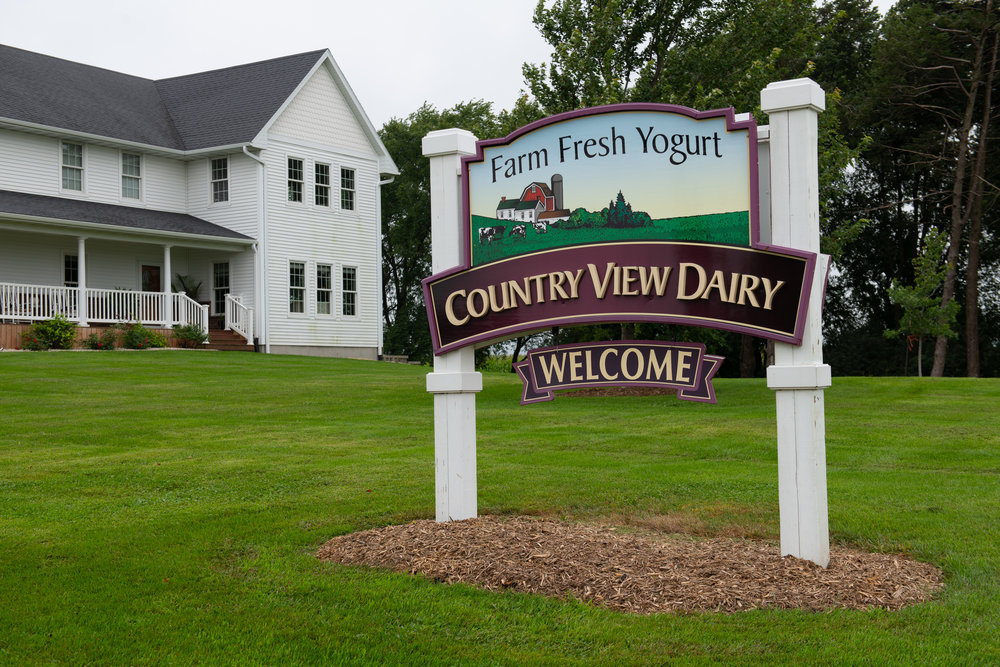 Country View Dairy produces fresh yogurt on the farm. Photo credit: Joseph L. Murphy/Iowa Soybean Association
