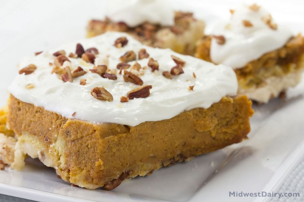 Try this play on pumpkin pie! Photo credit: Midwest Dairy
