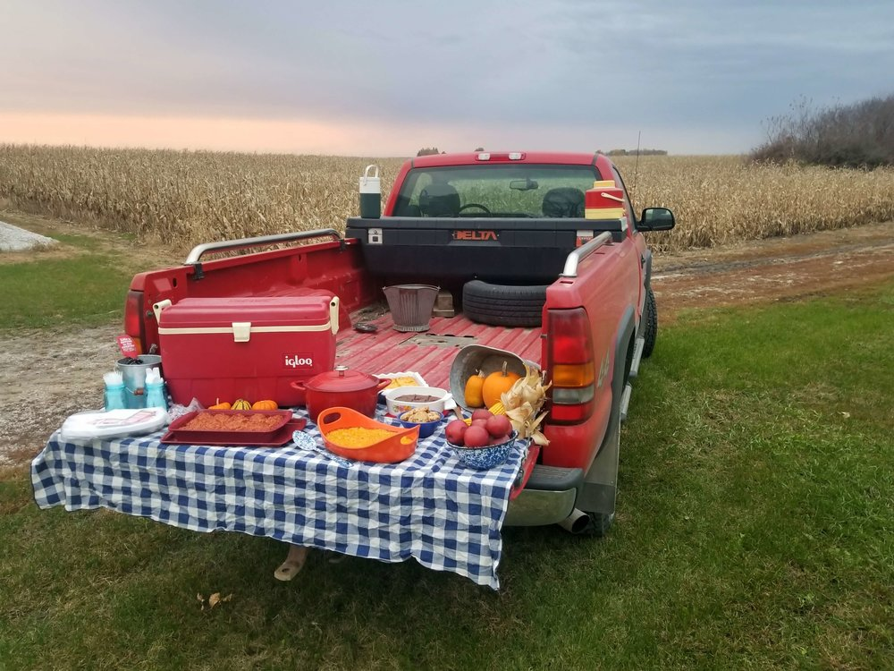 Harvest meals keep farmers running during long days in the combine. Photo credit: Darcy Dougherty Maulsby