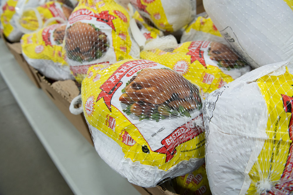 The company gifted 592 turkeys in 2018. Photo credit: Joseph L. Murphy/Iowa Soybean Association