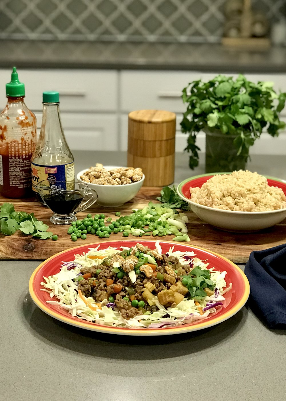 ... I opted for the healthiest versions of the ingredients. Lean ground  meat, a variety of ...