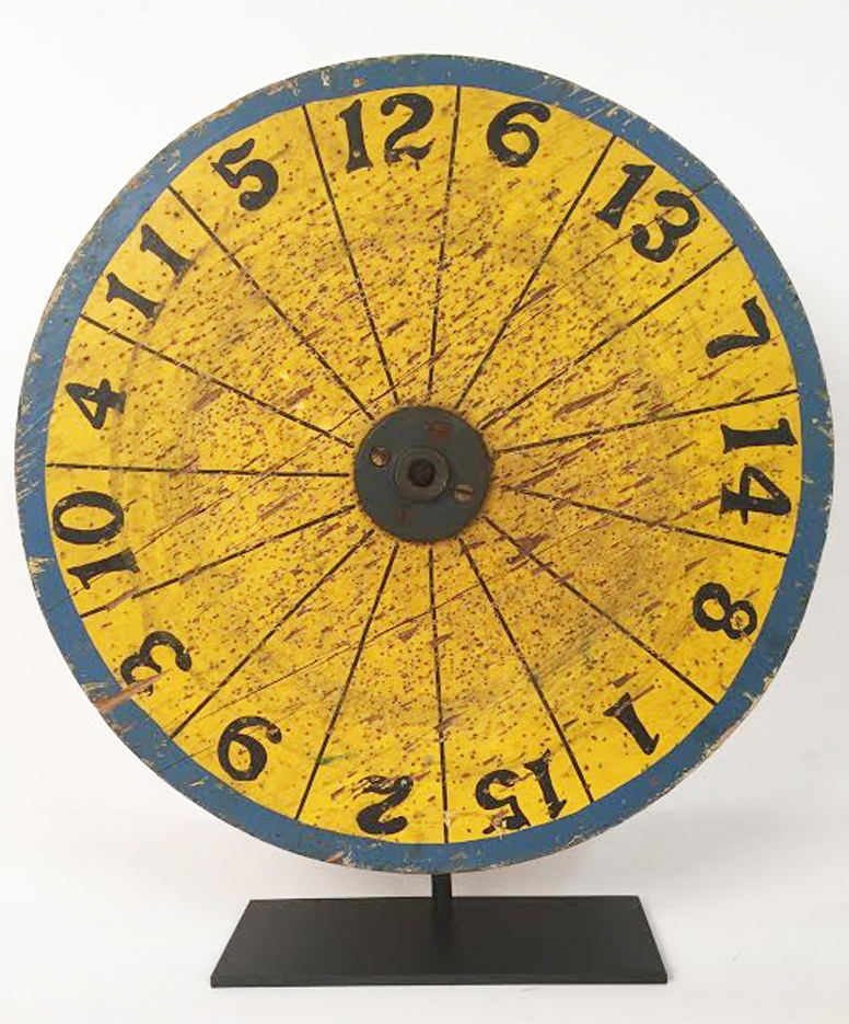 Spinning Carnival Dart Board, on mount.jpg