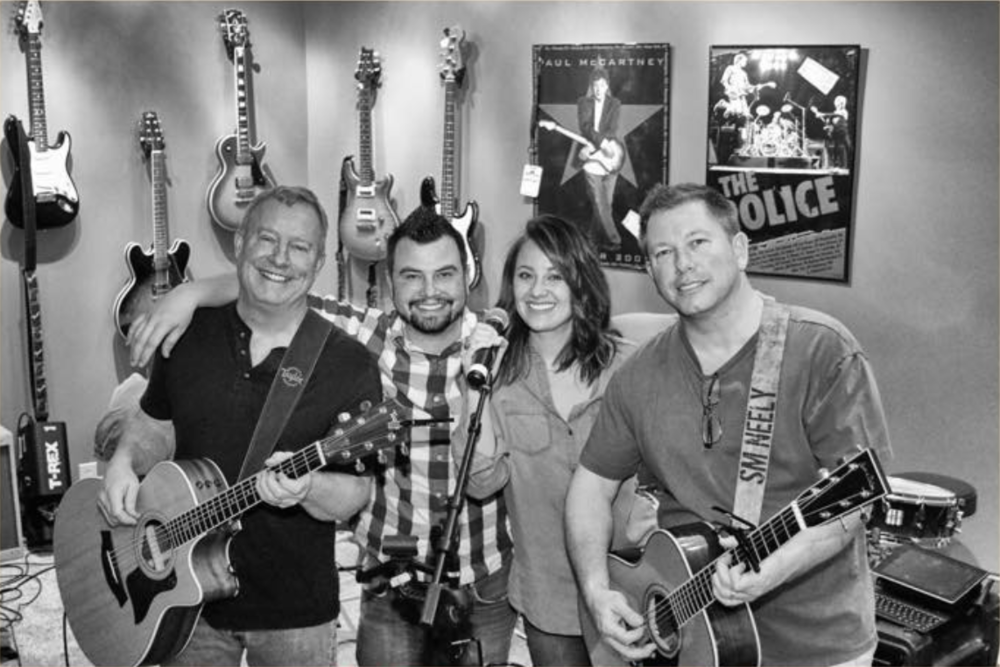 JUST PUSH PLAY BAND is an Indiana acoustic 4-member band that performs sing-along hits and well-known covers throughout bars and restaurants in Indianapolis. Steve Neely, CFAC co-founder, is a lead vocalist and guitar player of JPP. -