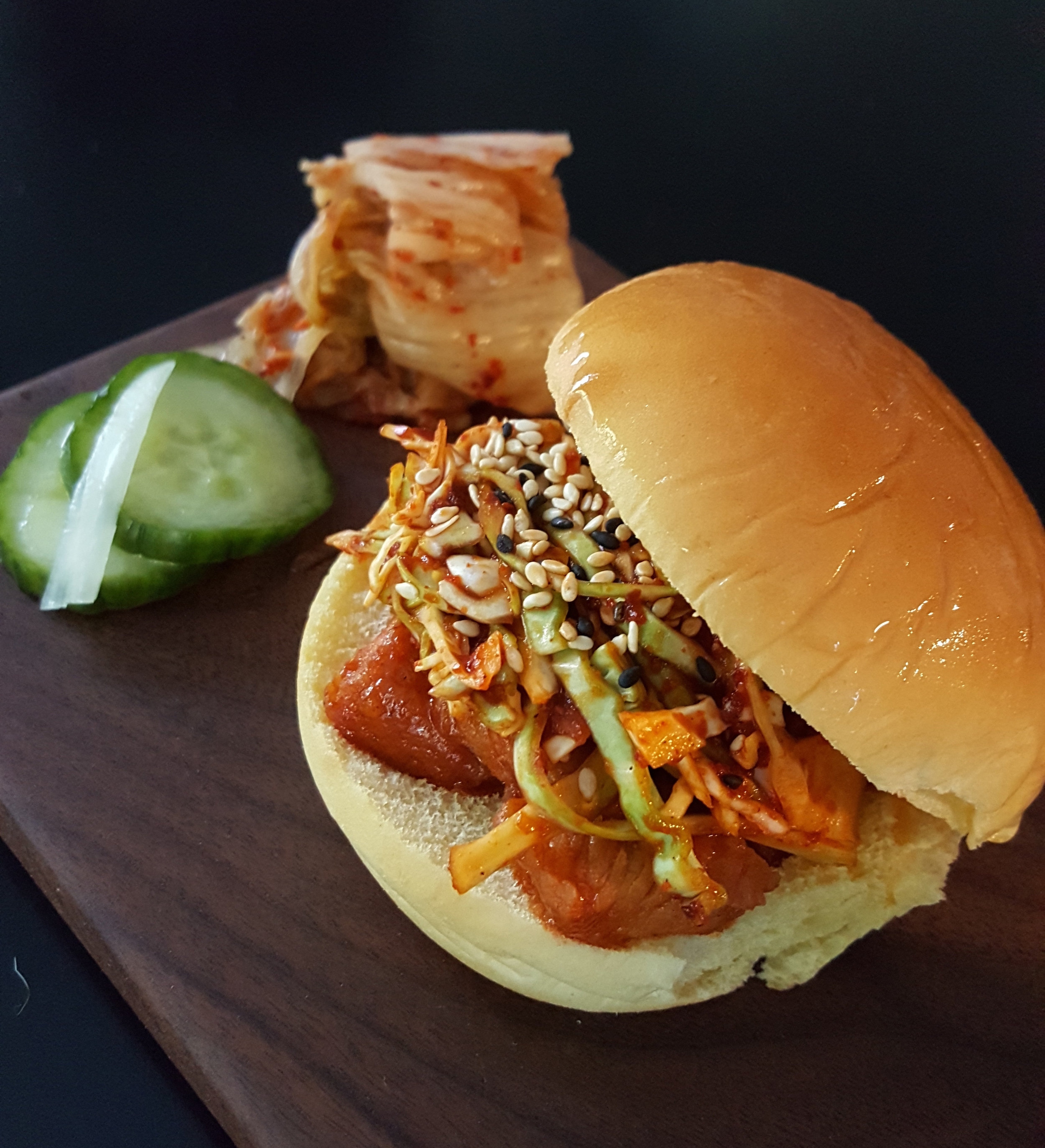 Atlanta Chef Jiyeon Lee's Spicy Korean Pork Sliders