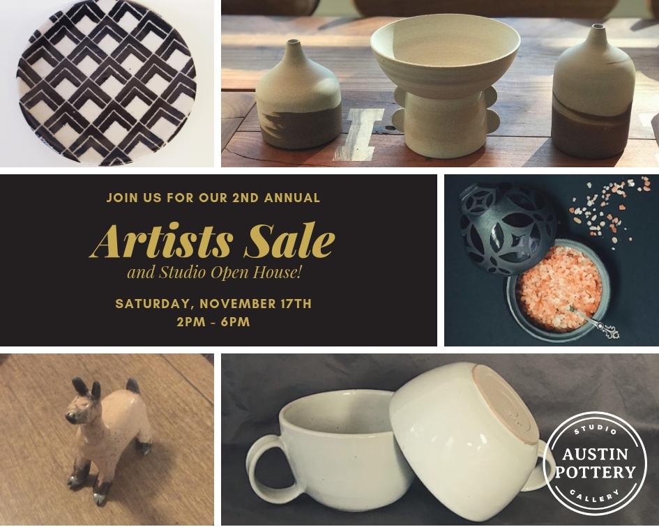Artists_Sale_Austin_Pottery_Event