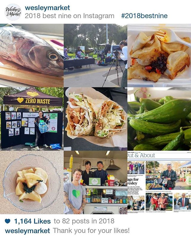 Thank you for supporting the @WesletMarket in 2018. We will be back on 8 January with the things you love, the people you know and the smell you drool!  We love you and see you again in the new year!  #aucklandmarket #aucklandmarkets #auckland #aucklandevents #WesleyMarket #puketapapalocalboard #puketapapa #mtroskill #sandringhamroad #sandringham #2018bestnine