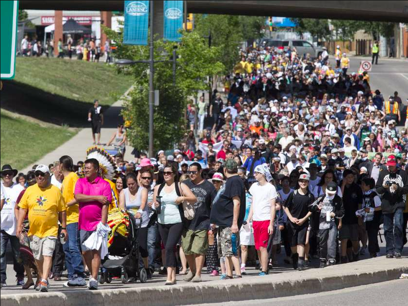 Walk for Reconciliation June 2016