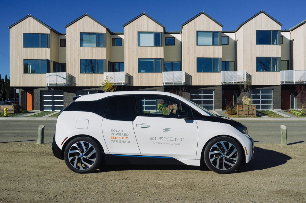 Shift Development Electric Carshare Powered By The Sun