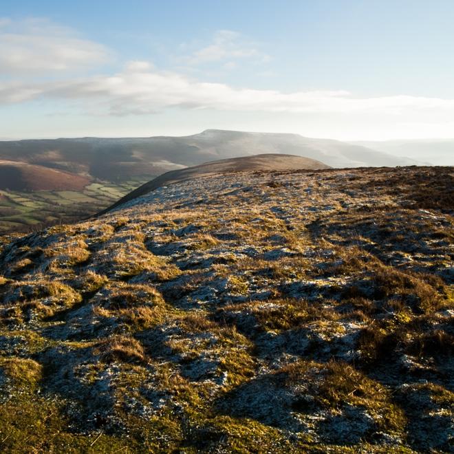 Mynydd Troed Ridge.
