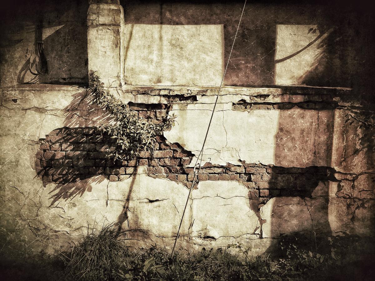 Sudbrook wall.