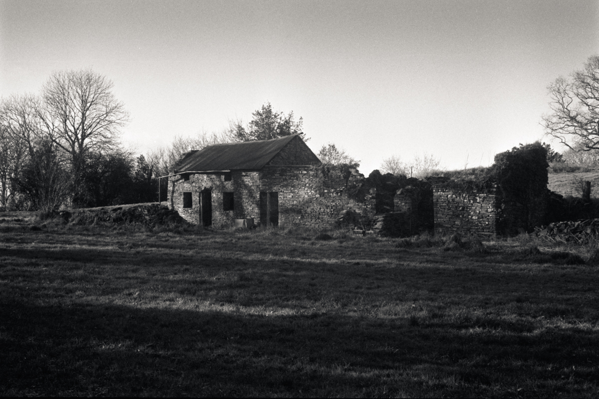 Old ruined farm house, near Devauden, Chepstow.