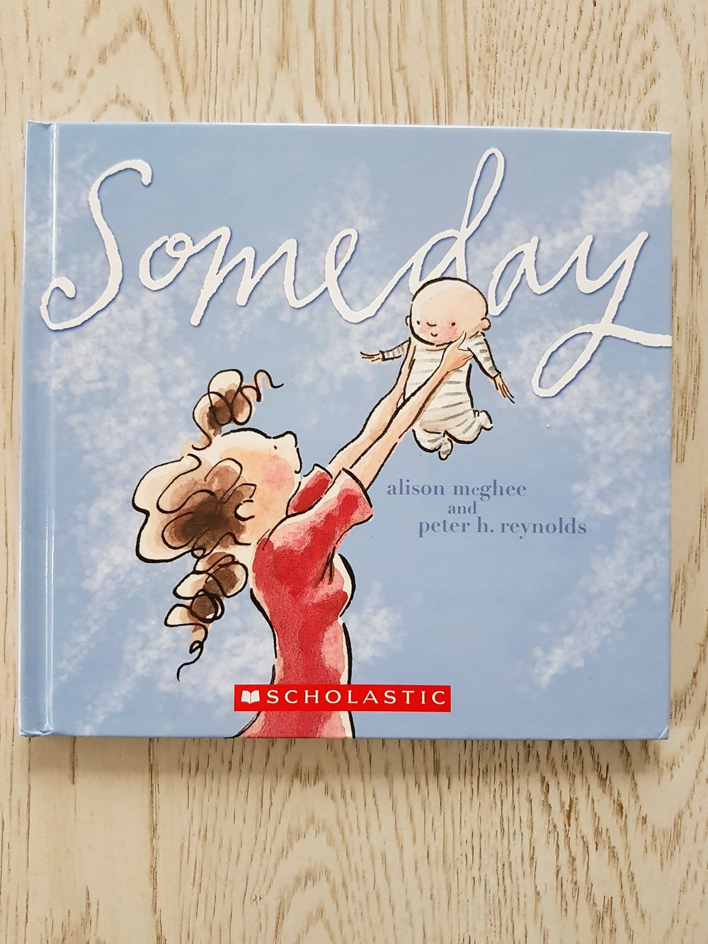 """""""Someday""""  is the story of watching childhood from motherhood; no matter where you are personally in the timeline, it will affect you. Most of the time, you will smile a preemptively nostalgic smile as you imagine that someday, your child will feel the cool, clear water of a lake or go off to University feeling that their home is suddenly so small."""
