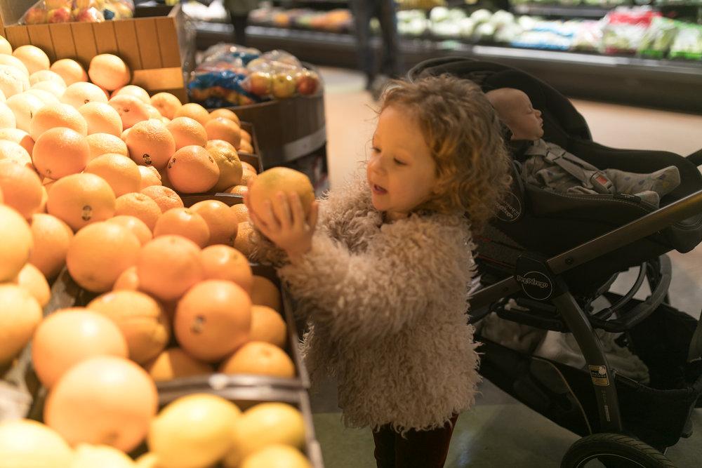involving children in grocery shopping maygen kardash nicole romanoff.jpg