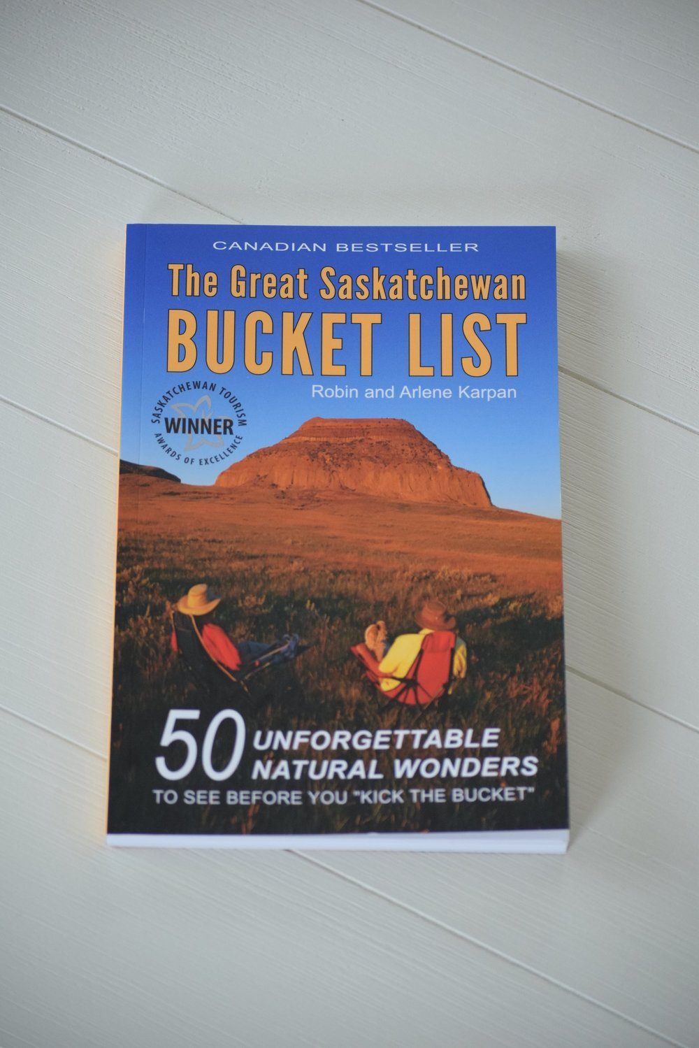 saskatchewan bucket list book
