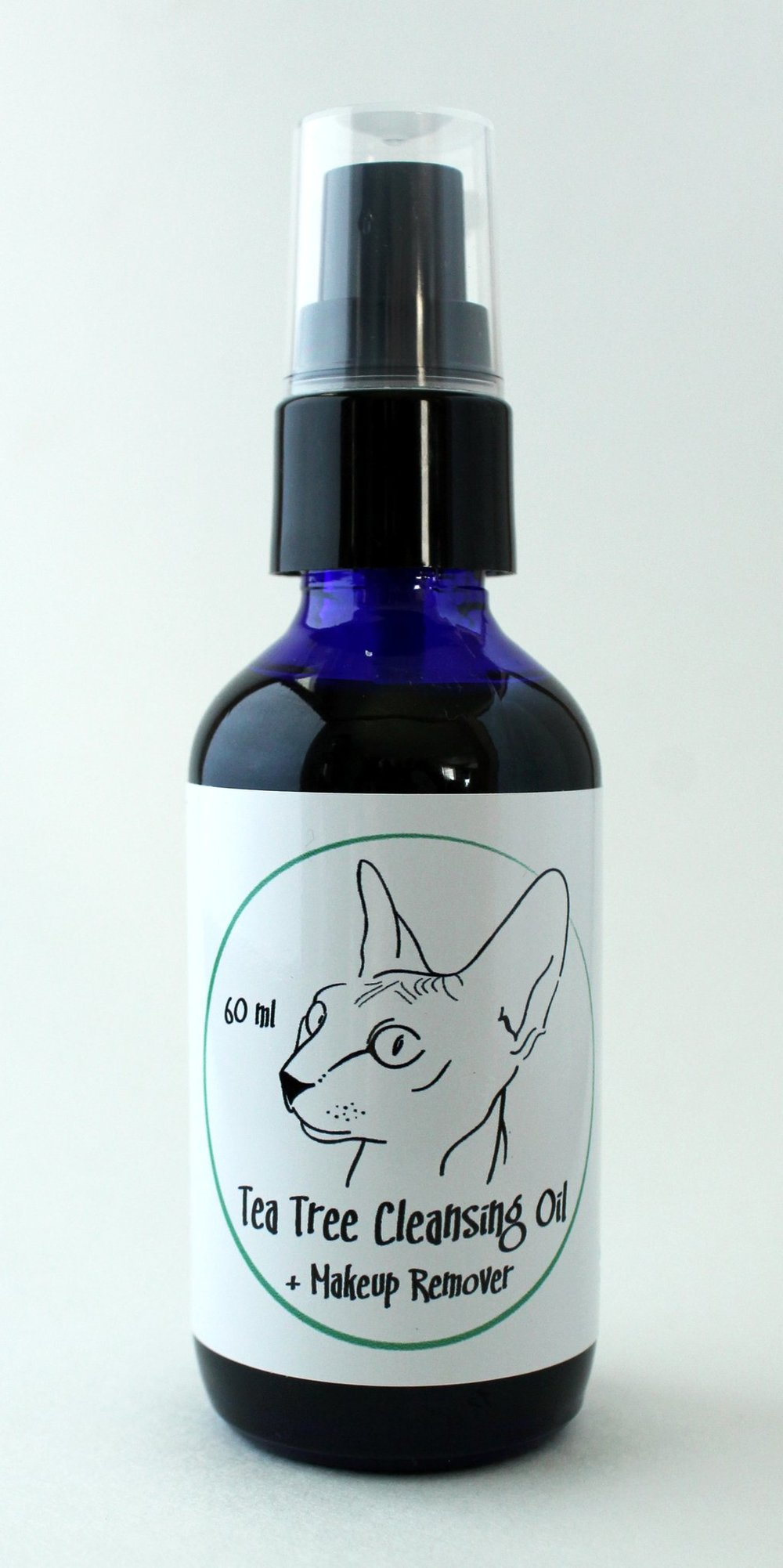 naked kitty naturals tea tree oil cleanser