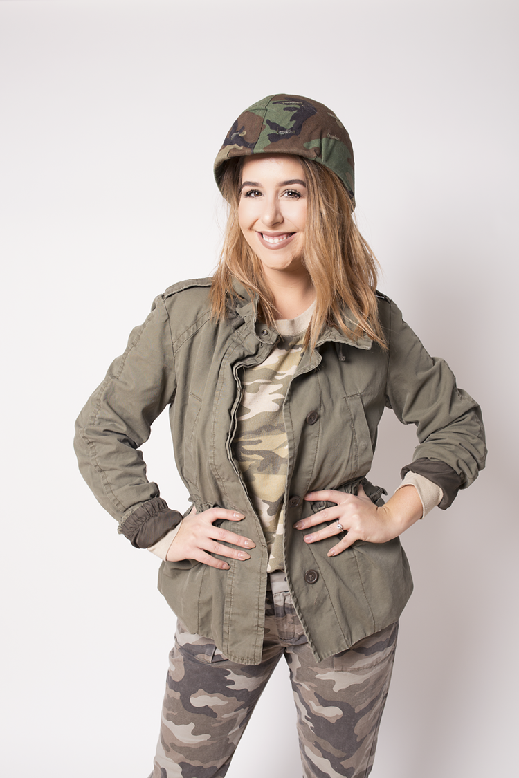 easy halloween costume army