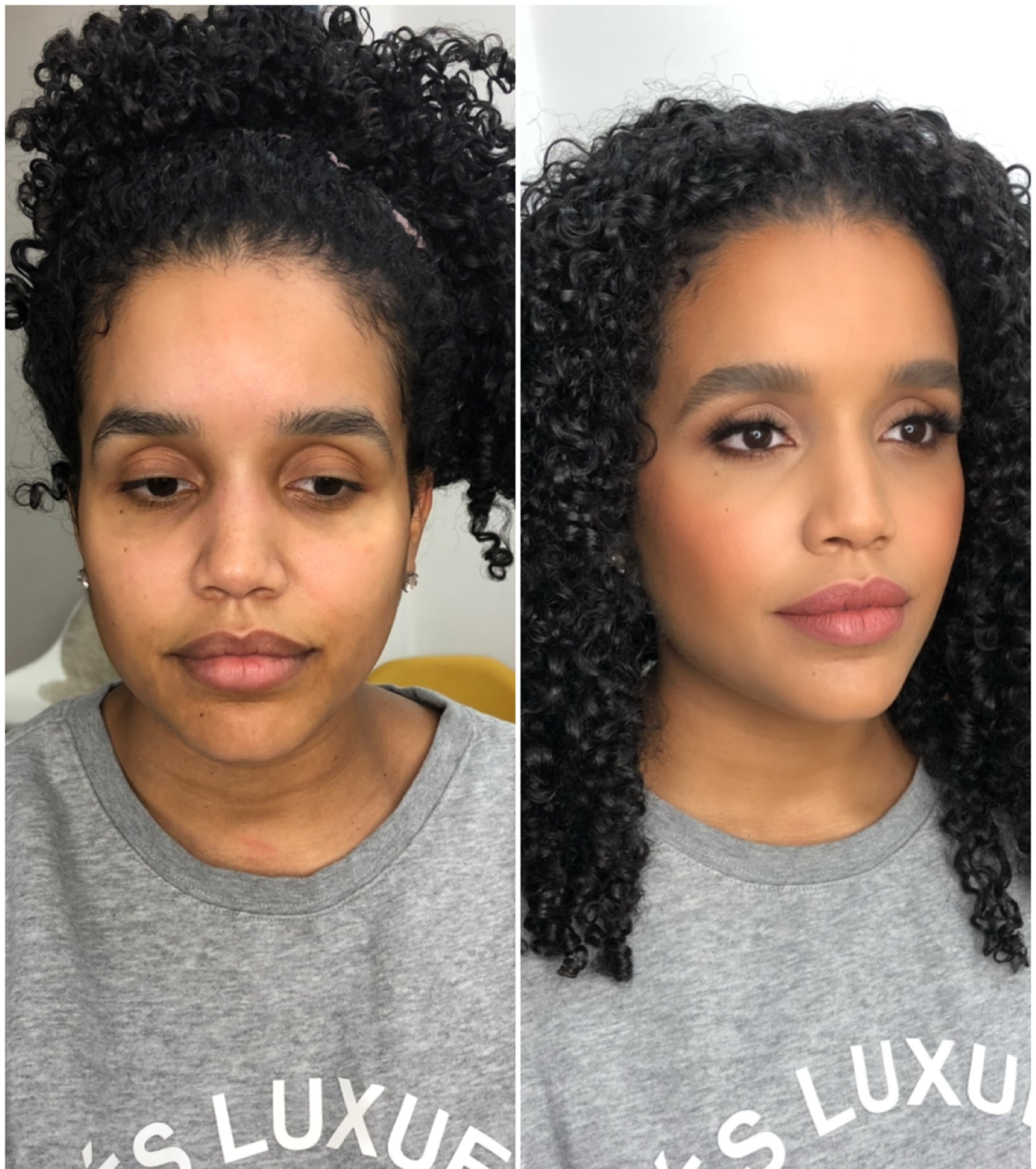 Before And After Hair Makeup Pictures Beauty Icon Nyc
