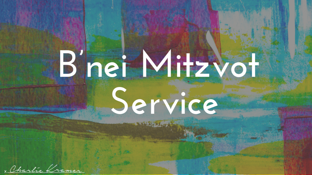 B'nei Mitzvot Service.png
