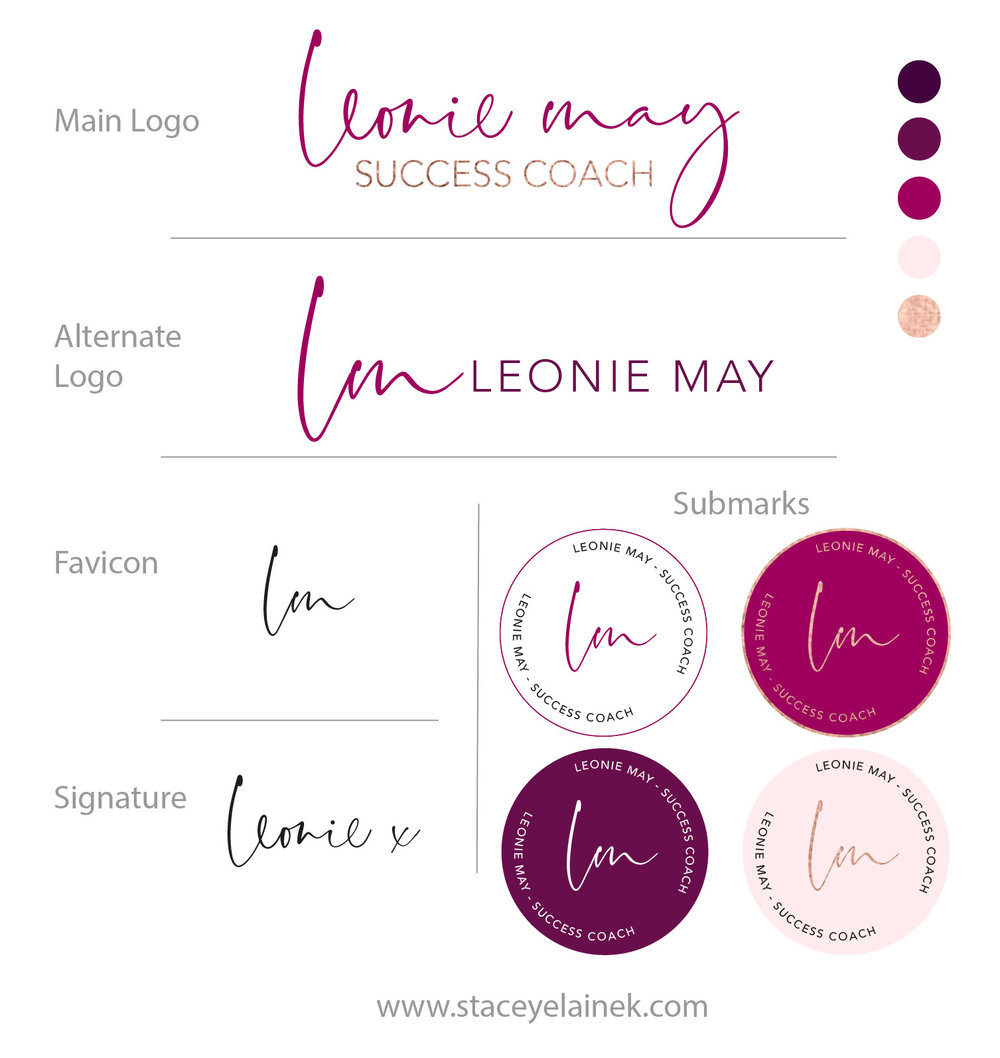 Send me your logos & colour codes - Or you can purchase one from my Logo Shop, like this one right here.