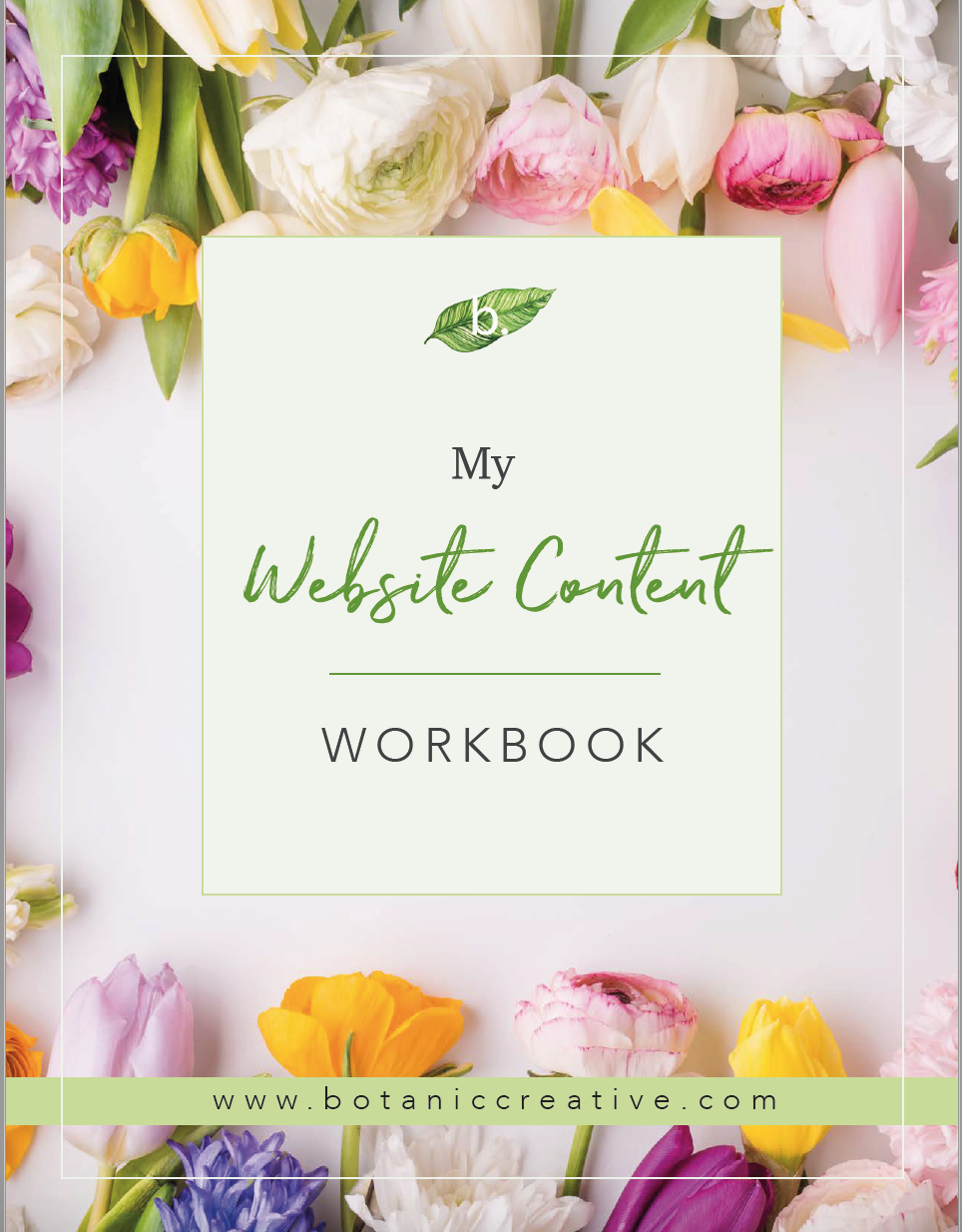 You'll need to send me your written content for your website & your images. - Don't worry, I'll provide this workbook which will help you write your content. Plus, we'll plan out the layout of the homepage too so that you know how much text to write / what to write. My website workbook also includes a template for writing your sales page!