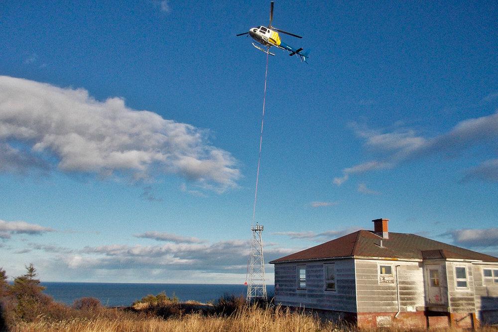 Réhabilitation environnementale de sites isolés  -  Île du Corossol, Île aux Sables, Cap-à-l'Est et Pointe-Basile
