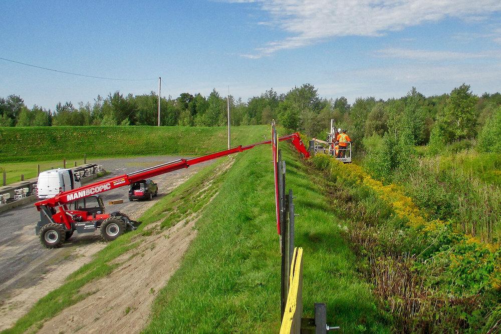 Caractérisation environnementale des remblais de buttes de tir sur une base militaire