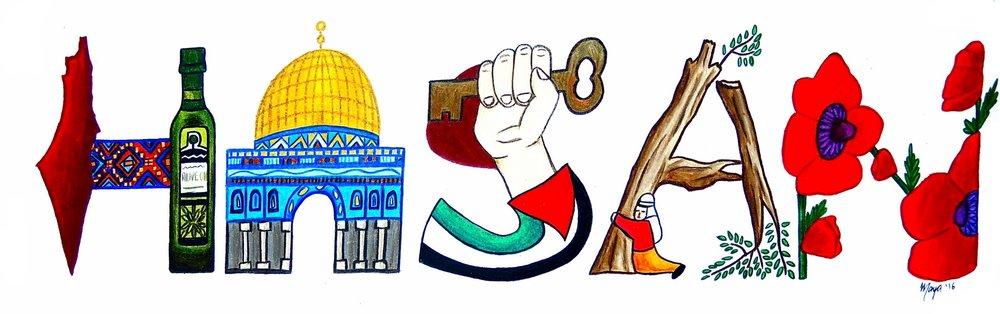 Palestine Namesakes Maiartgallery