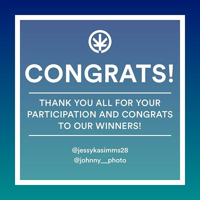 🎉🎁Big congratulations to the winners of our giveaway @jessykasimms28 and @johnny__photo! Thank you @cbdyoume for co-sponsoring this giveaway. And Thank you all for your support and participation. Please stay tuned to more giveaways soon and never stop finding your feelgood. 🌱😀