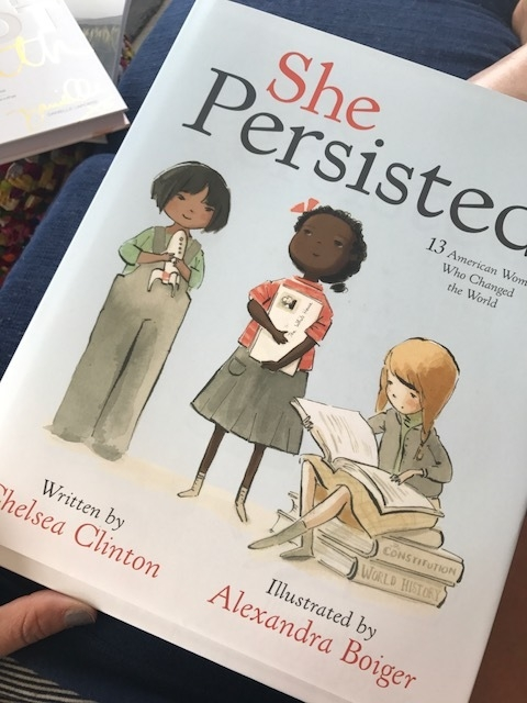 This book is an inspiration for girls and women of all ages as we look through history and acknowledge the fact that we just can't be silent.