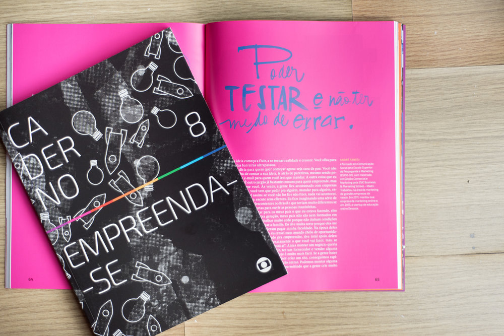 CadernoEmpreenda-se - vol. 8 | editora Globo