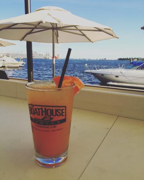 Grapefruit Crush at The Boathouse